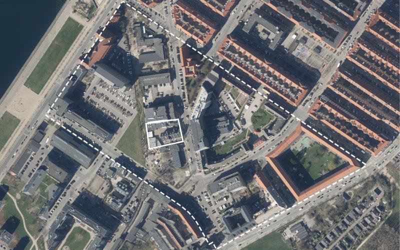 Foto over lokalplanområdet