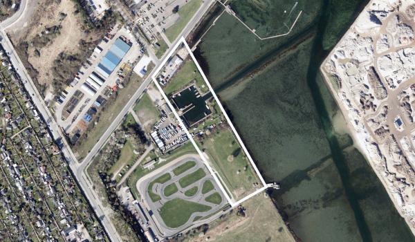 Luftfoto af området Byplan 86