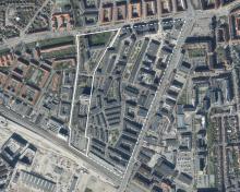 Foto over lokalplanområdet ved F.L Smidth II tillæg 3